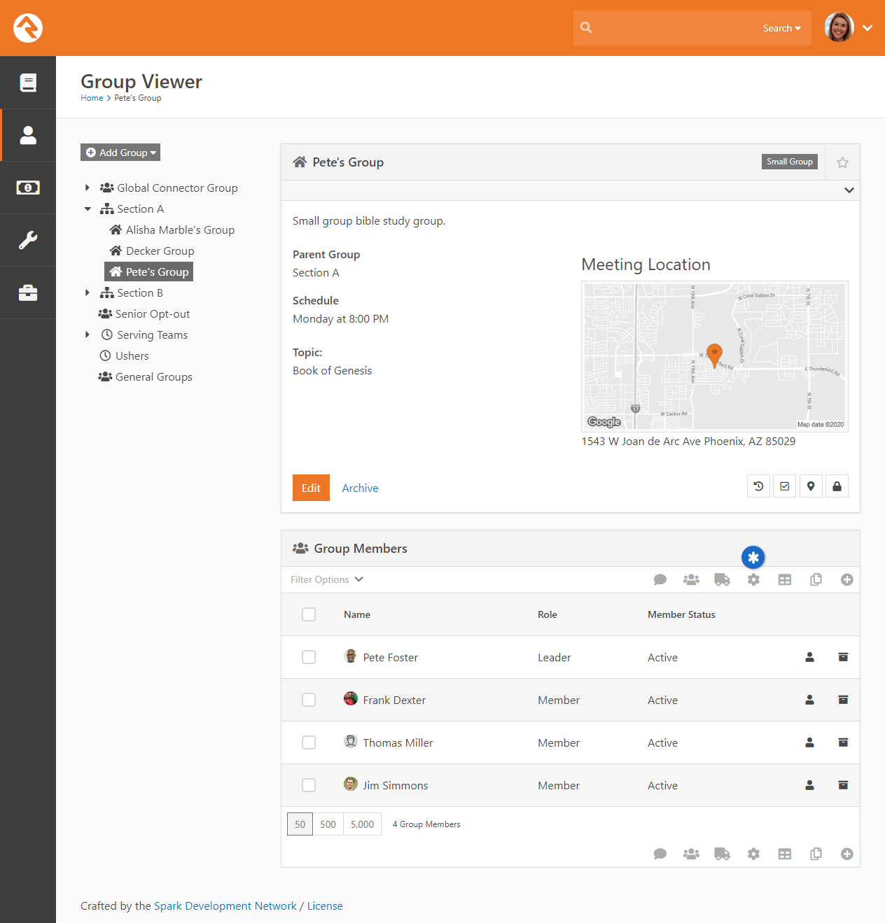Launch Workflow From Grid - Group Viewer