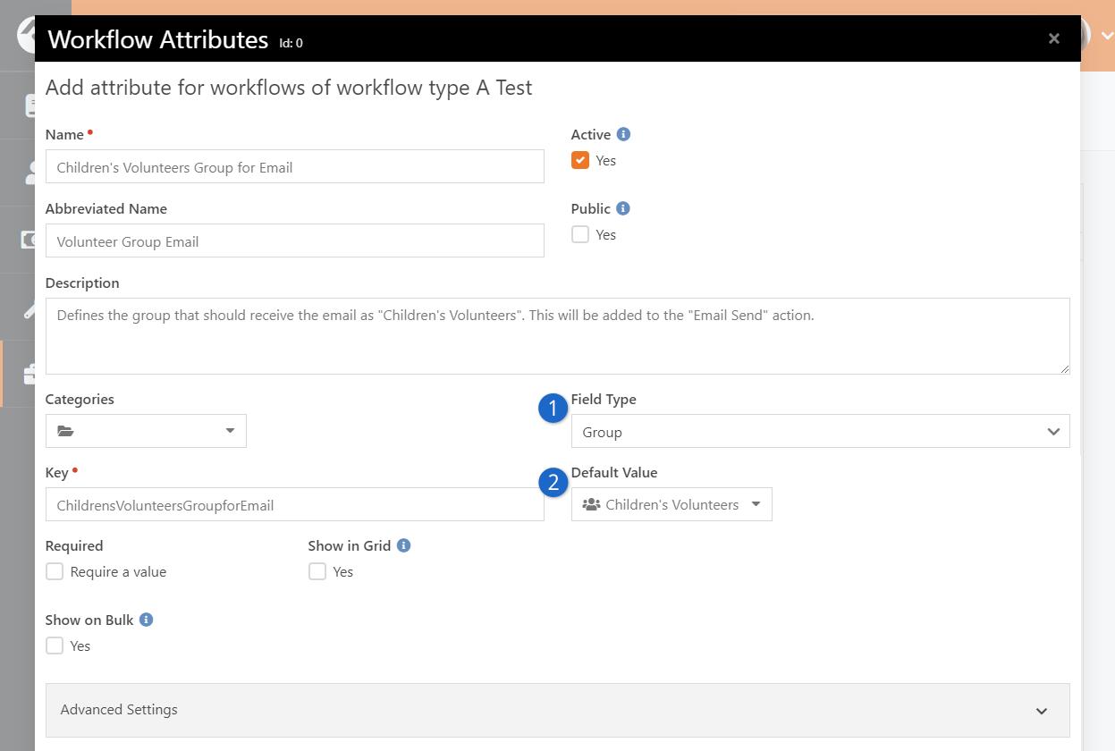 Add Workflow Attribute