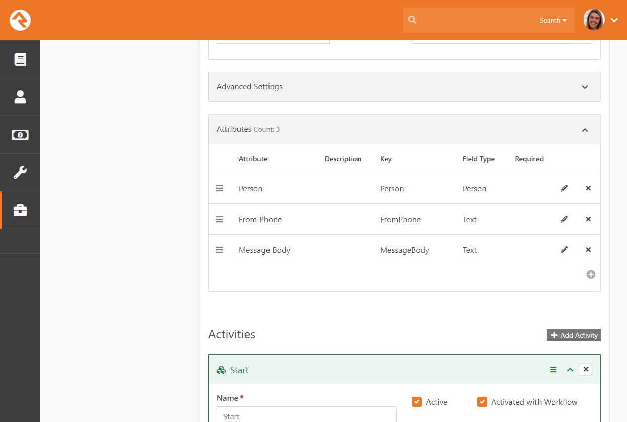 Configure Workflow Attributes