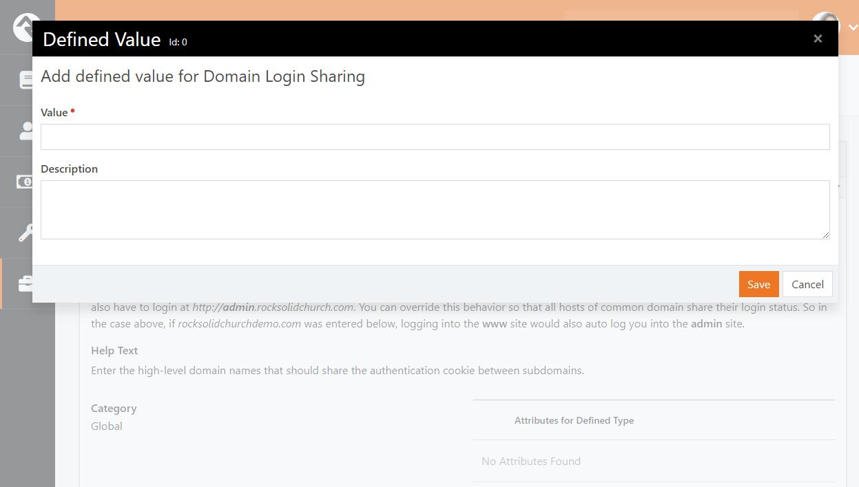 Domain Login Sharing
