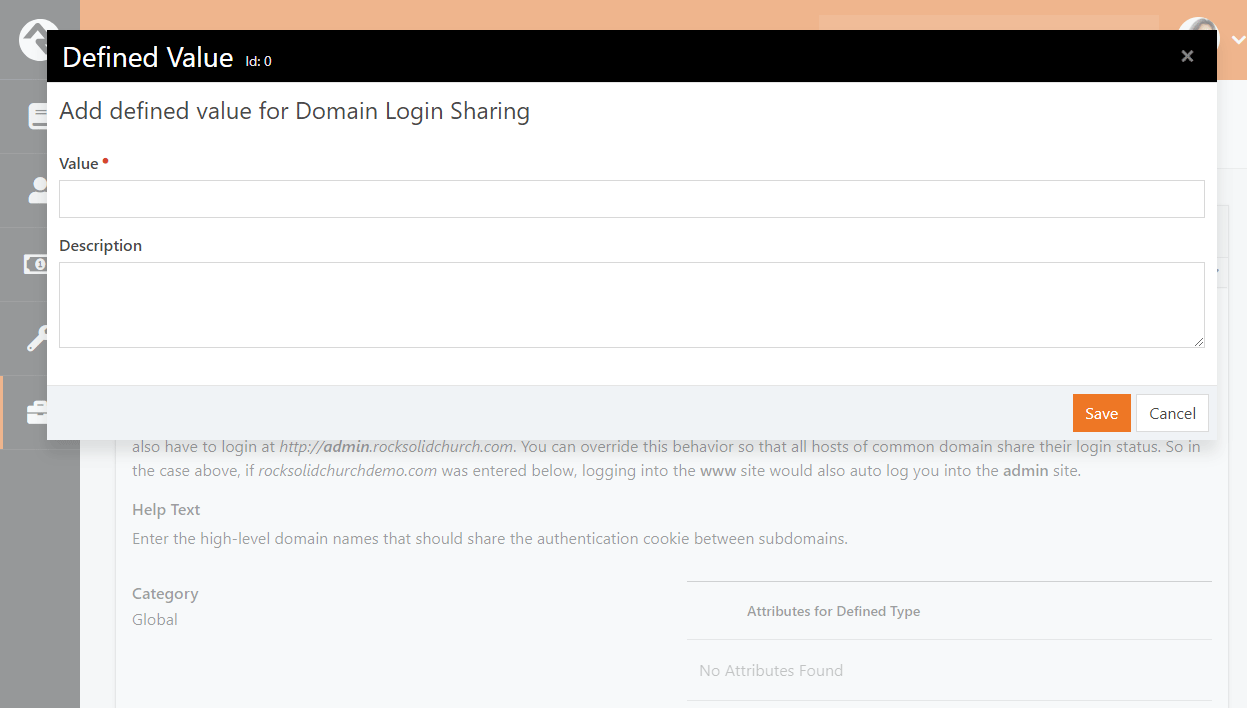Domain Login Sharing