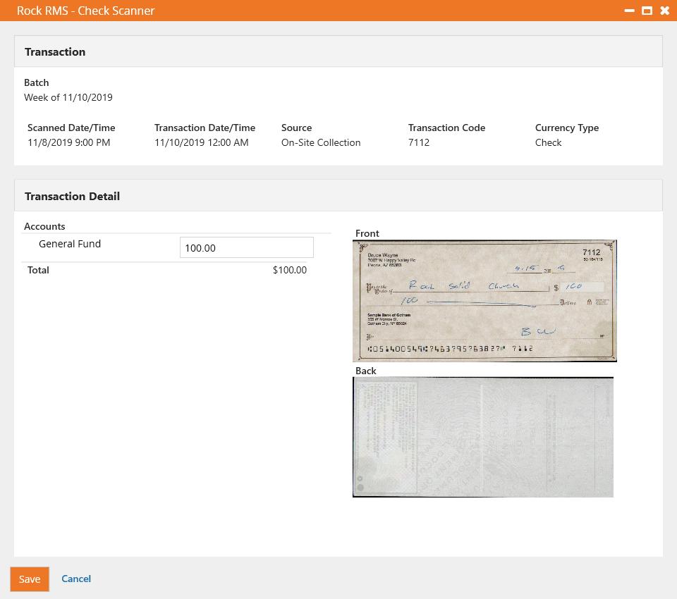 Transaction Details - Capture Enabled