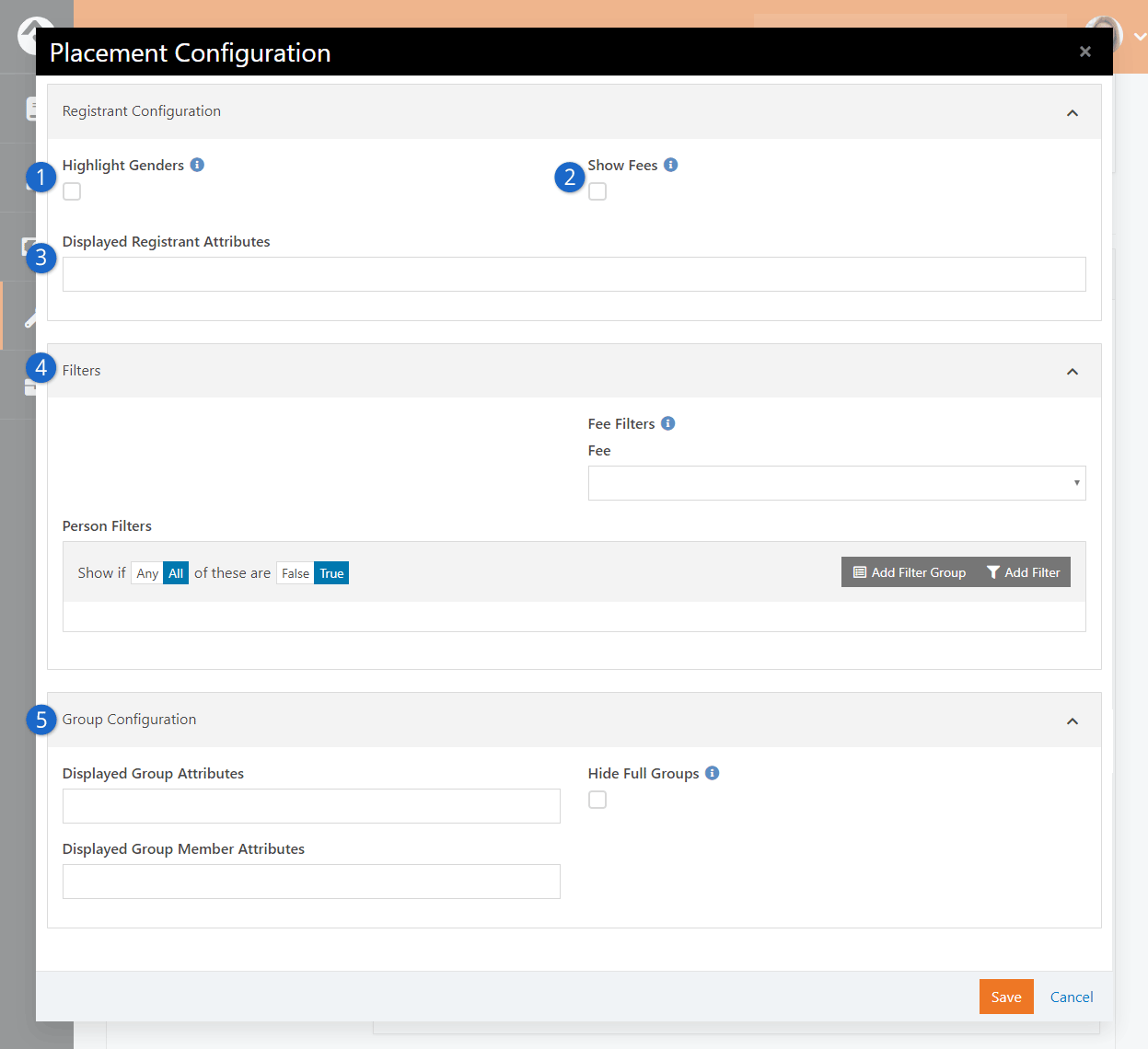 Edit Instance Placement Configuration