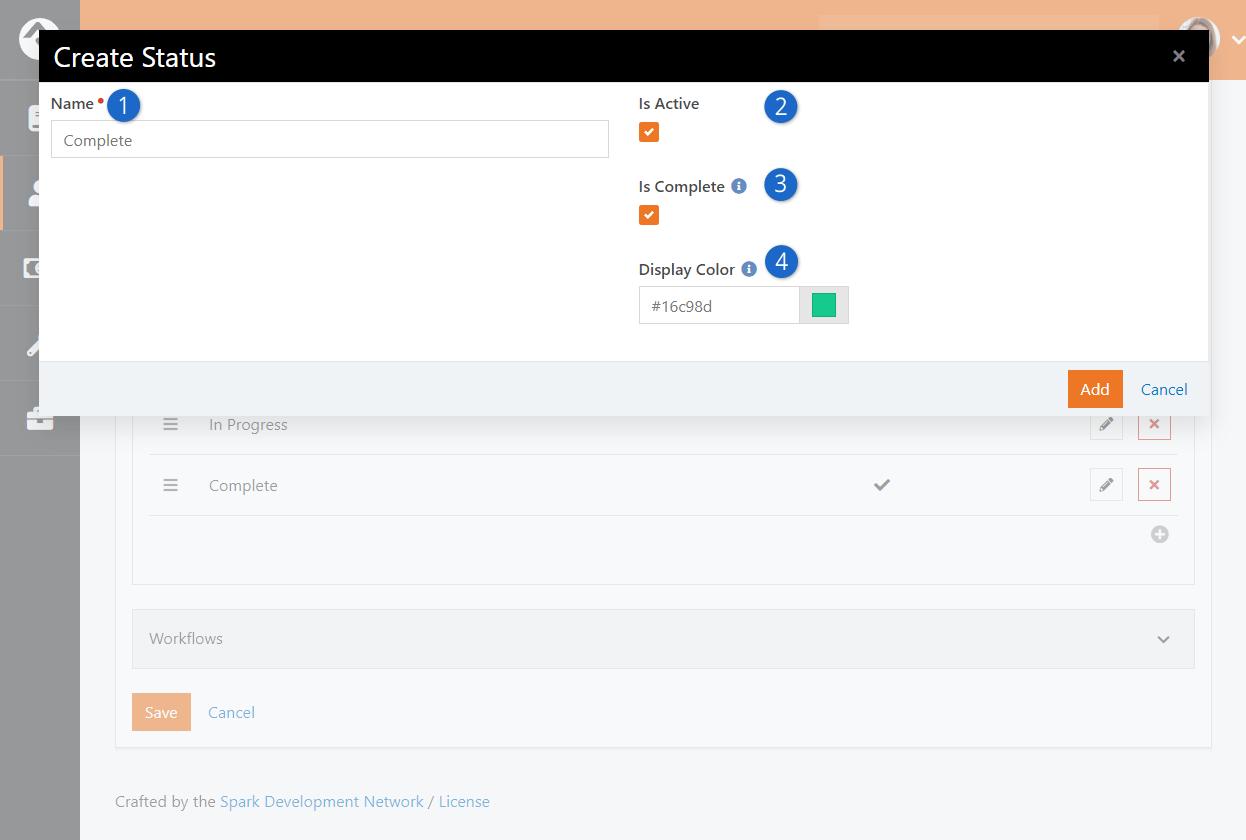 Create Status Page