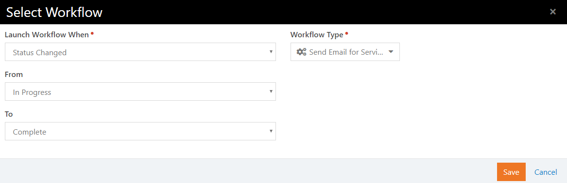 Step Type Add Workflow