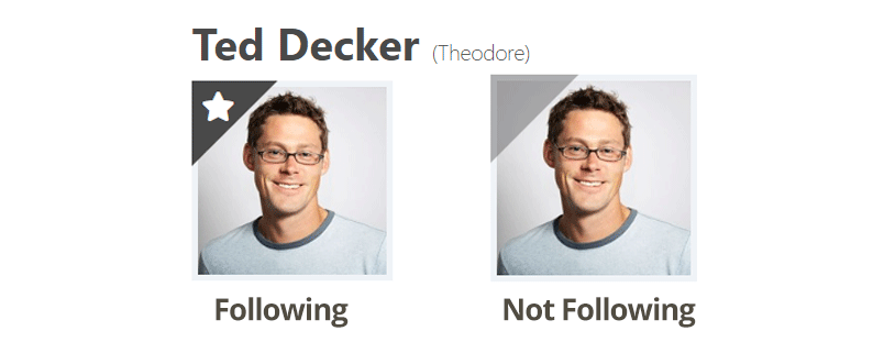 Following An Individual