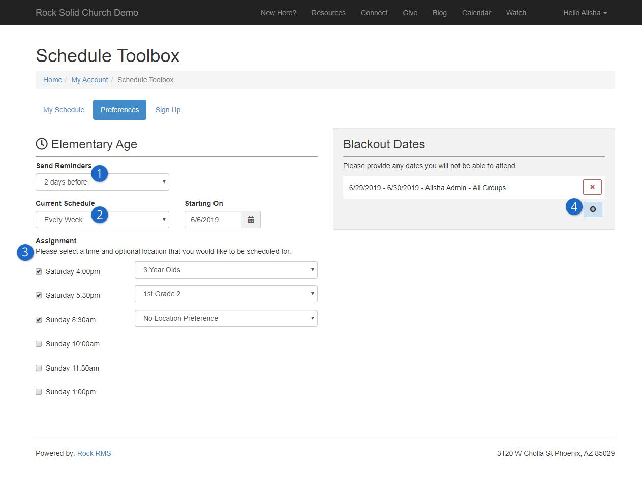 External Schedule Toolbox