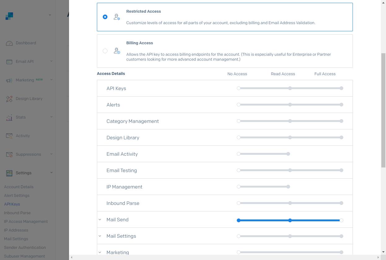 API Key Configuration