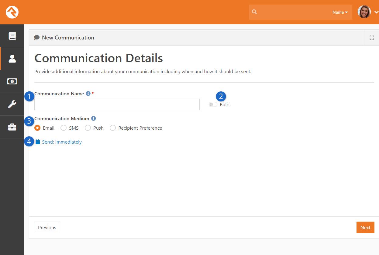 Communication Details