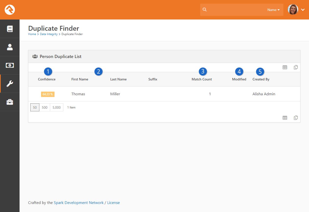 Duplicate List