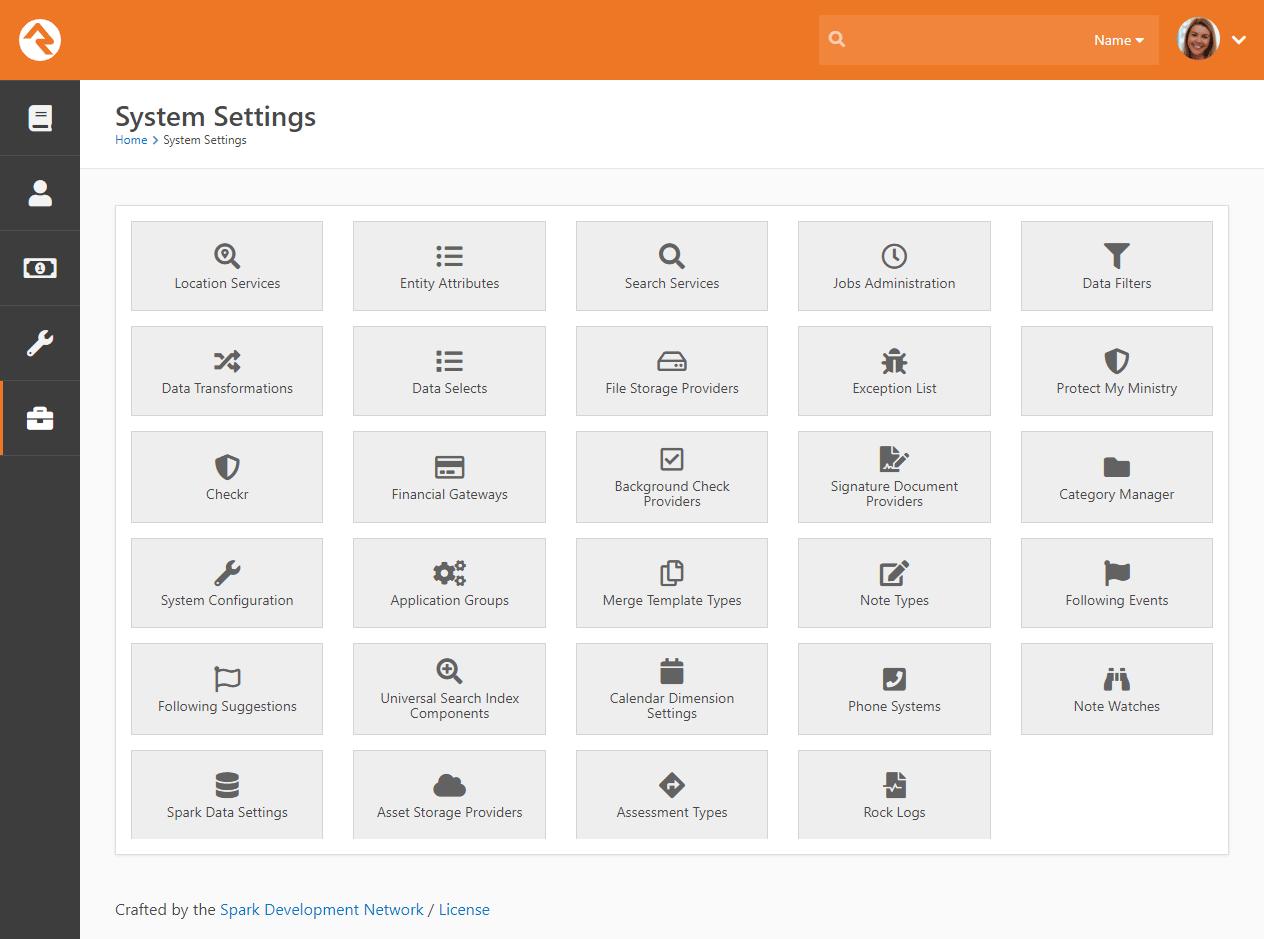 System Settings